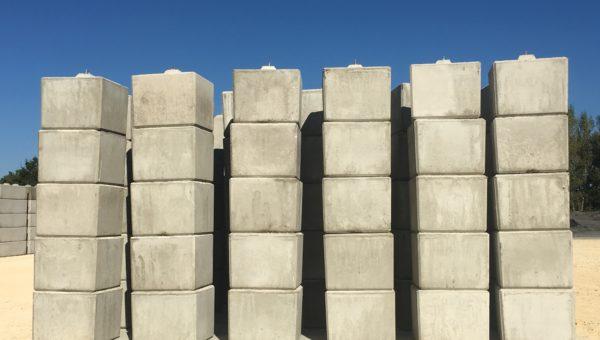 La + large gamme de blocs béton