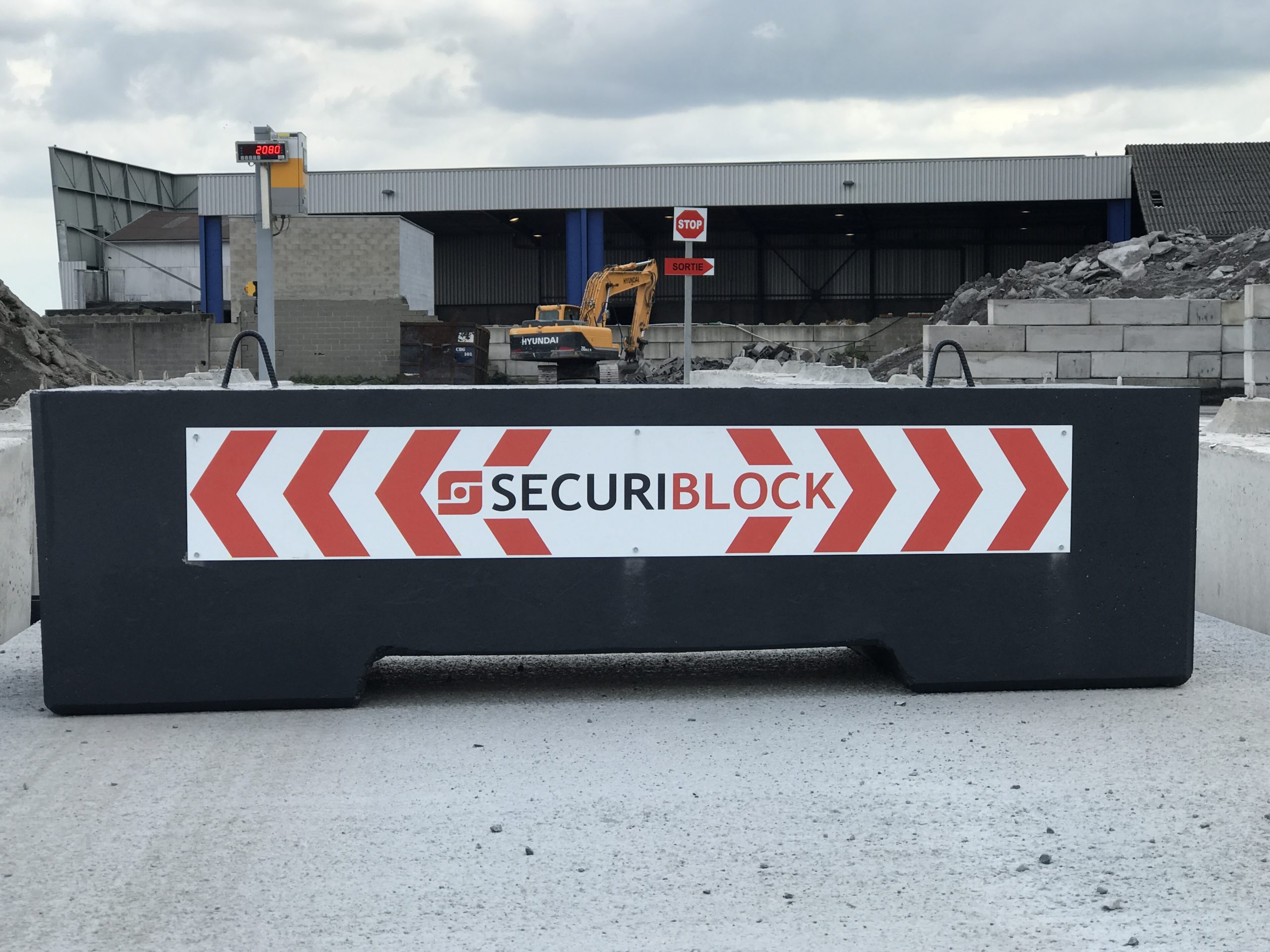Blocs béton anti-intrusion Douai