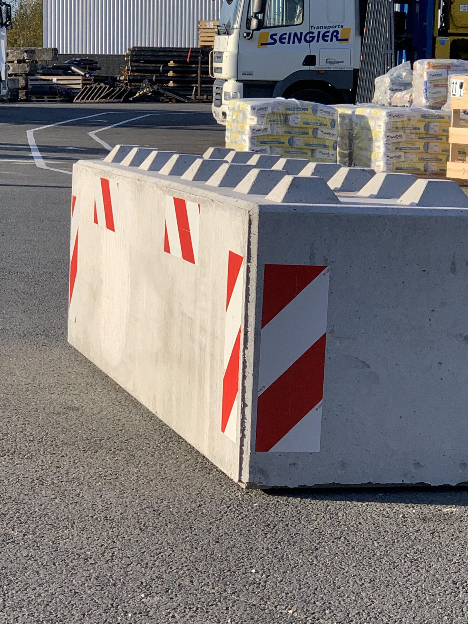 Blocs béton anti-intrusion Ile-de-France