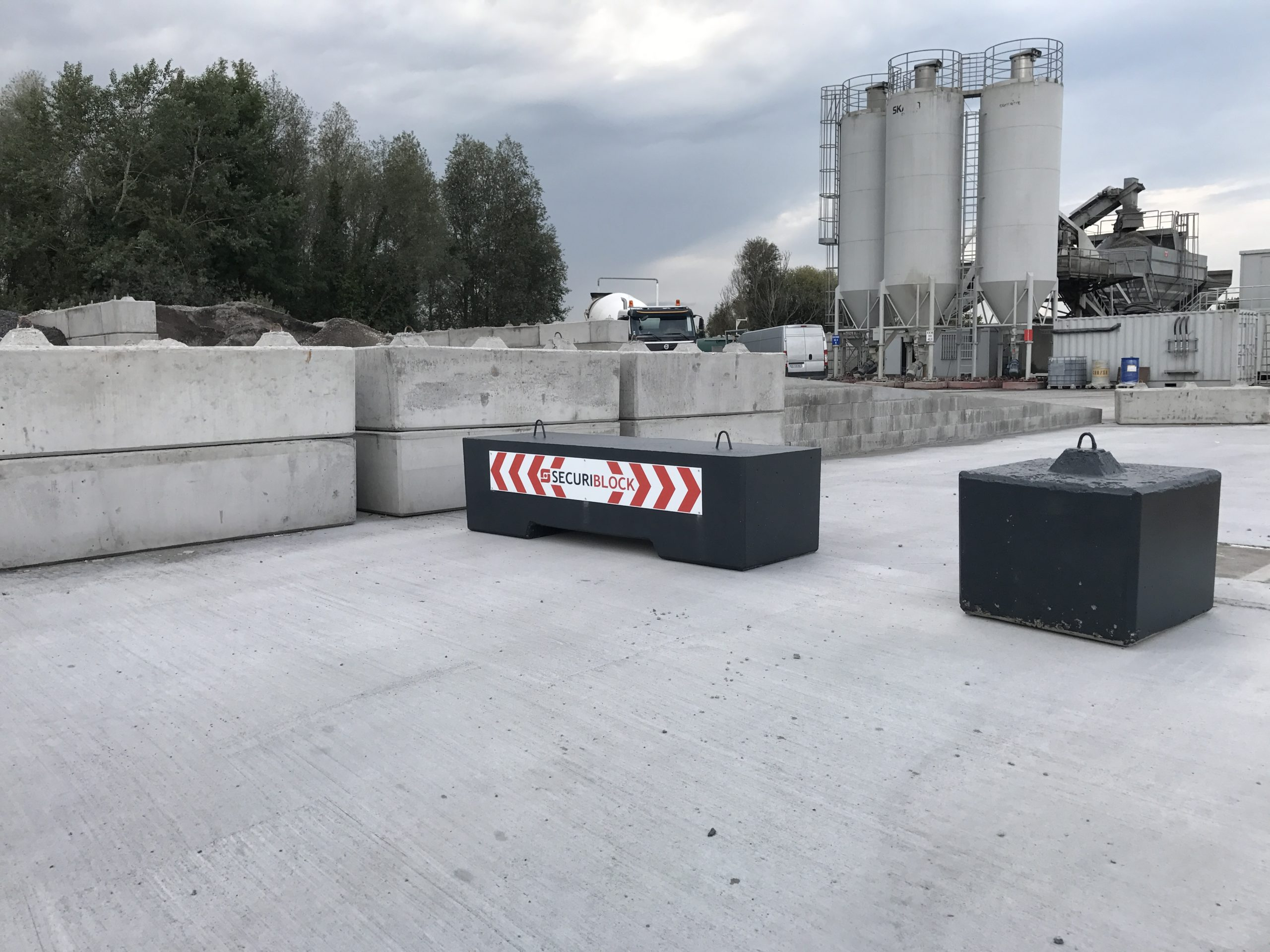 Blocs béton anti-intrusion Lille