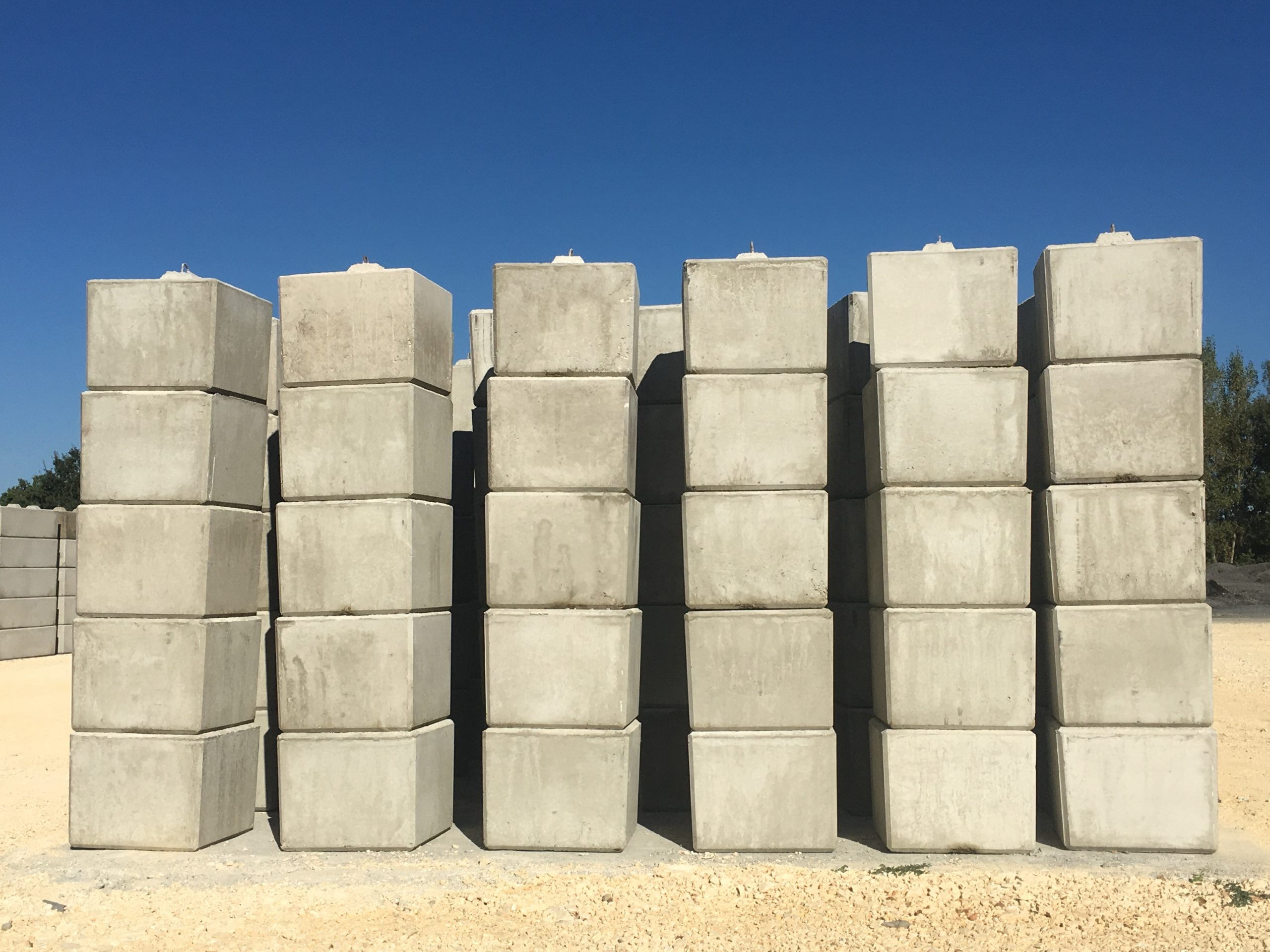 Vente blocs béton type Lego