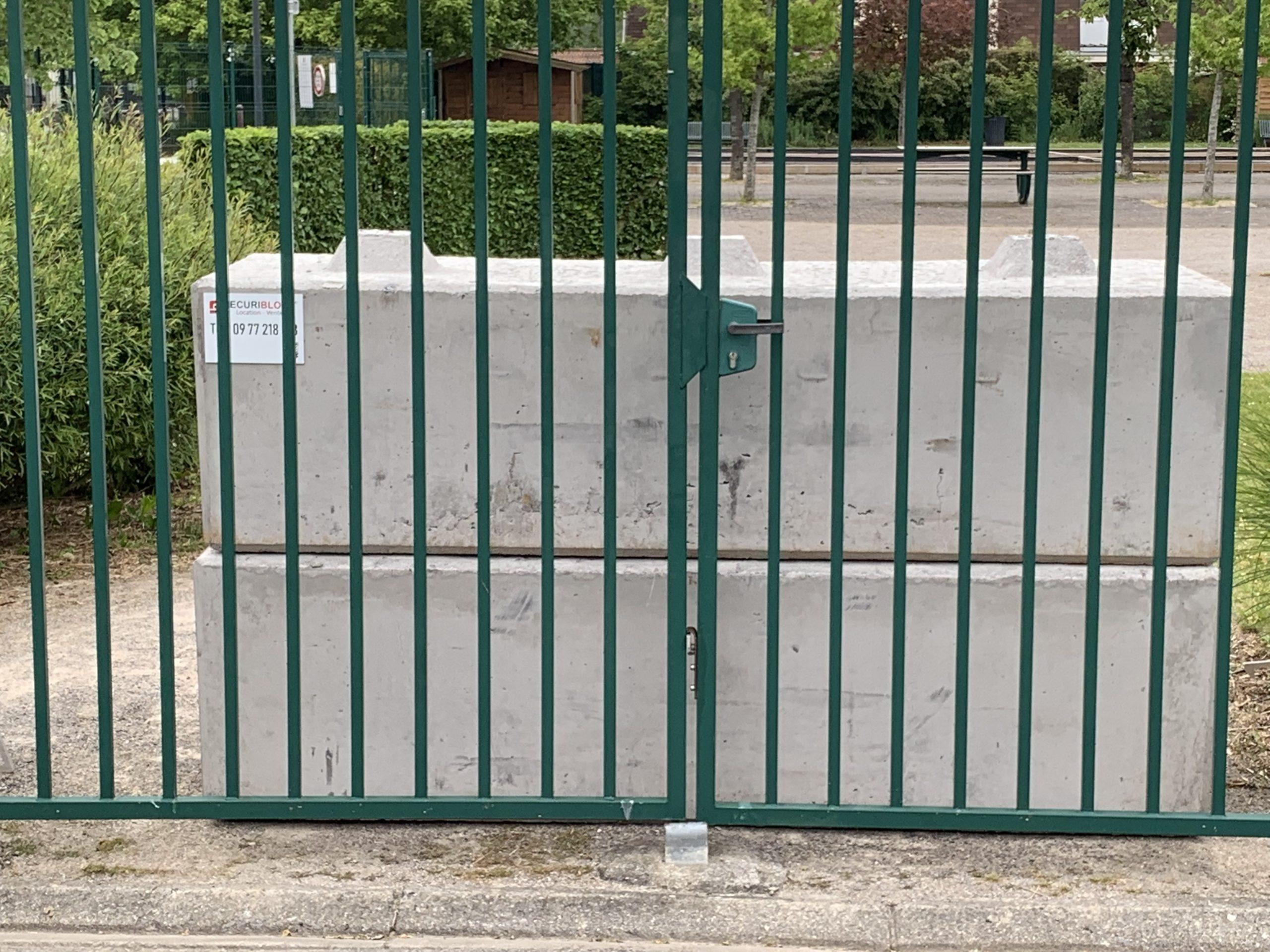 Blocs béton anti-intrusion Hauts de France