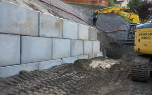Talutage blocs béton Dunkerque